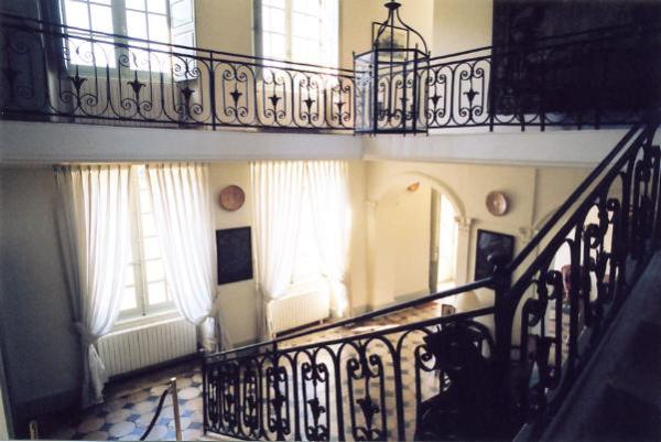 Chateau de Villaines Hall and Staircase